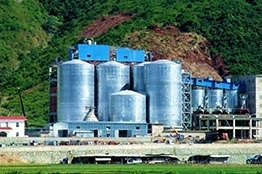 Cement Silo System Solution for Clinker Mill Plant Industry