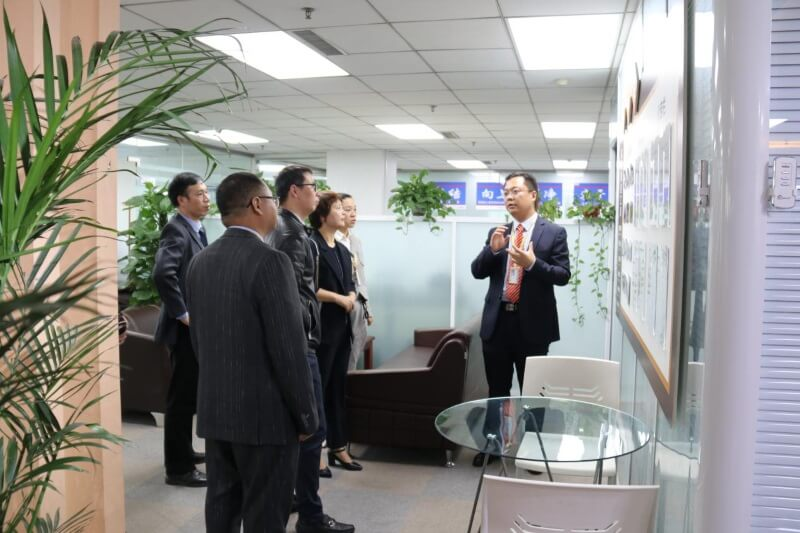 Government officials Of Henan visited SRON Company