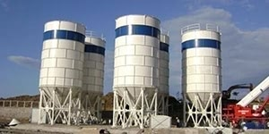 100 Tons High Quality Bolted Cement Silo For Sale
