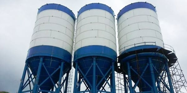 Cement Silo  For Concrete Mixing Station