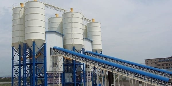 300ton Cement Silo For Concrete Batching Plant