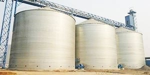 500 Storage Tons Clinker Silos