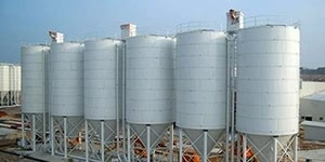Cement storage steel silo solutions