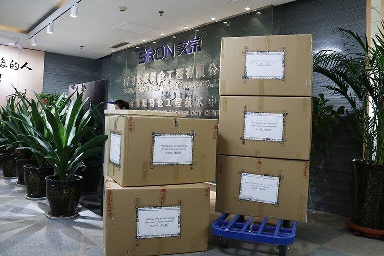 Anti-Epidemic, sharing love—SRON donated epidemic prevention materials to overseas partners