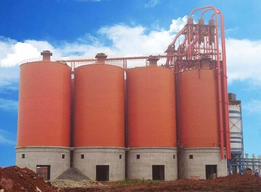 FLY ASH SILO SYSTEM