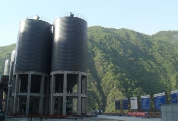 HYDRATED LIME SILO