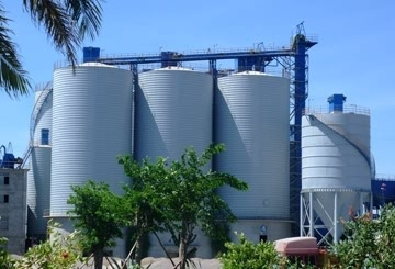 SPIRAL CEMENT SILO SYSTEM